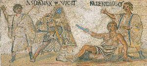 mosaico-anfiteatro